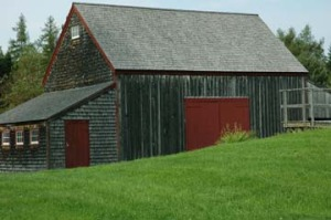 Barn in Penobscot Maine
